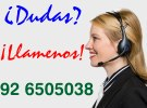 Llamenos! Telefono 92 6505038